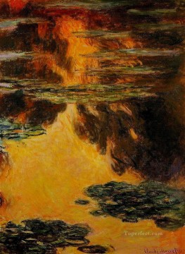 Water Lilies II Claude Monet Decor Art